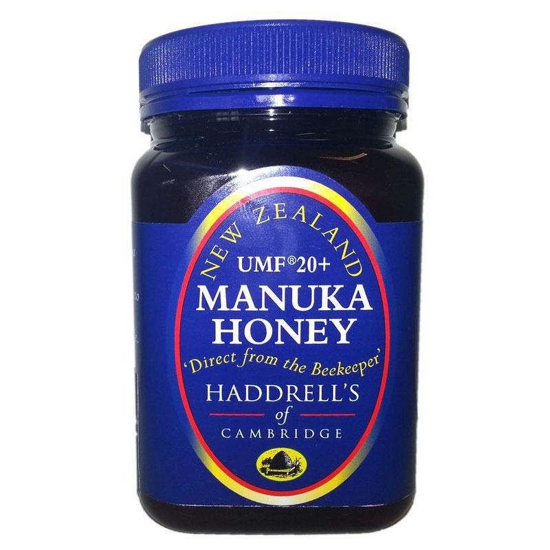 Manuka honey Haddrell's UMF20+ ( MGO 829+ ), 250g