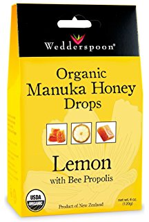 Manuka Honey Drops - Lemon with Bee Propolis