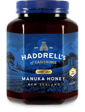 Manuka Honey Haddrell's UMF16+ ( MGO 600+ ), 1kg